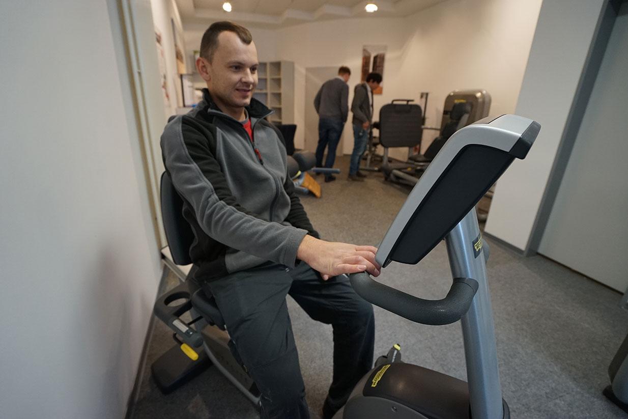 Insektenschutzhersteller eröffnet Raum für Fitness