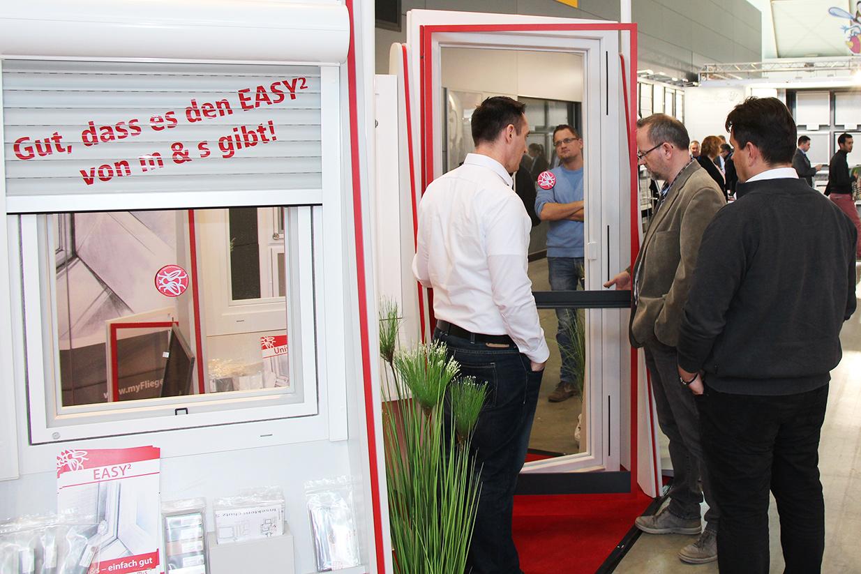 m&s Insektenschutz und Vorsatzsprossen Hersteller bei der R+T in Stuttgart