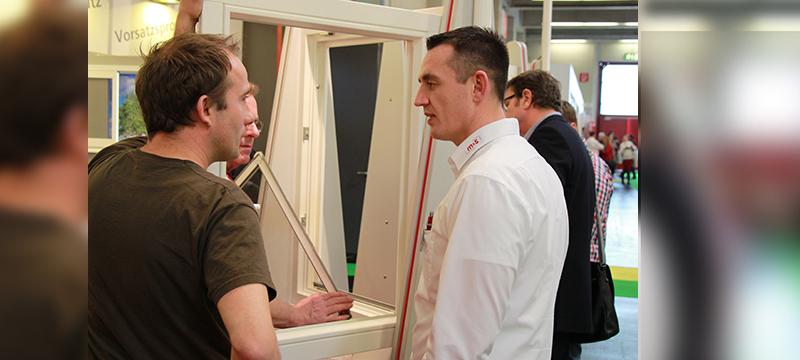 m&s Hersteller für Fliegengitter auf der Holz-handwerk Messe