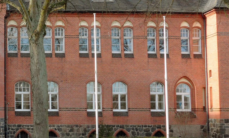 m&s Referenz Amtsgericht mit Sprossenelementen ausgestattet