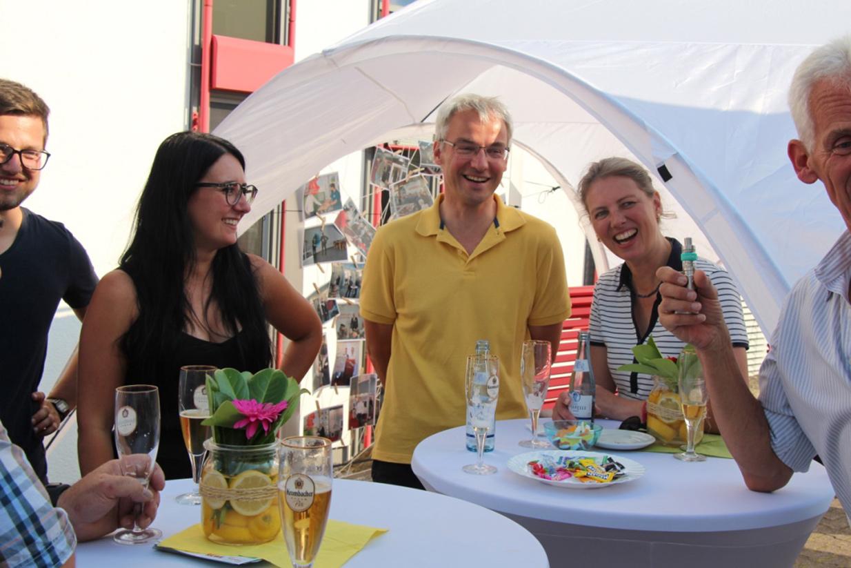 Sommerfest beim Fliegengitterhersteller m&s und Fensterbauer FTF Sander