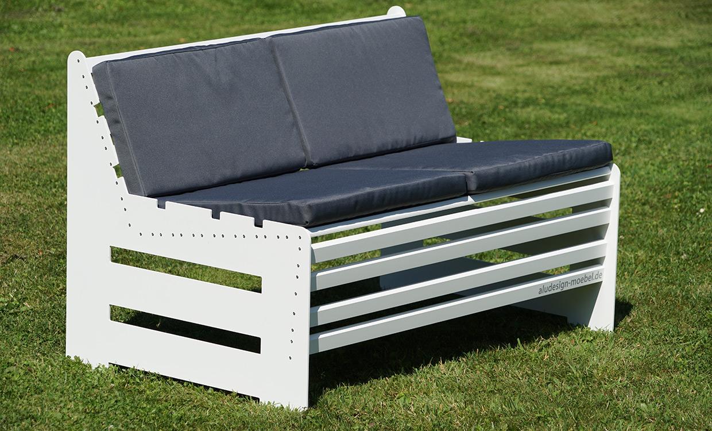 Palettenmöbel aus Aluminium von m&s