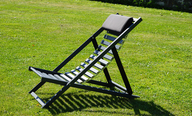 Deckchair aus Aluminium von m&s