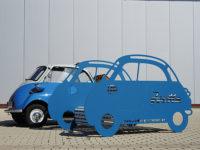 autobank aus alu Logo Isetta