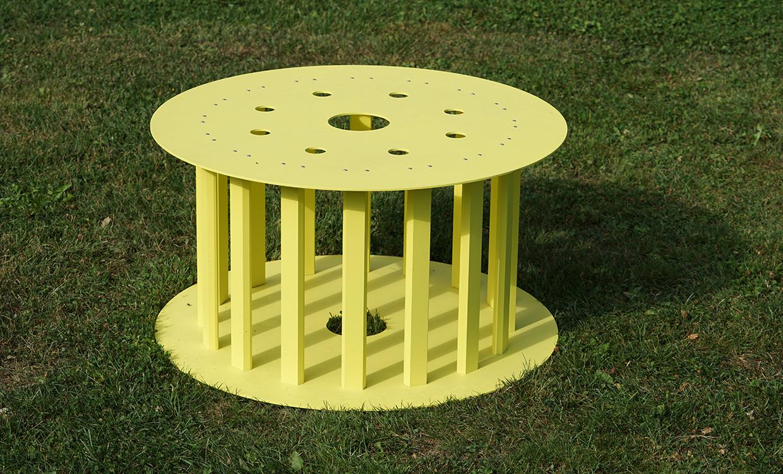 ms alu-design moebel runder Tisch Gartenmoebel aus ALU