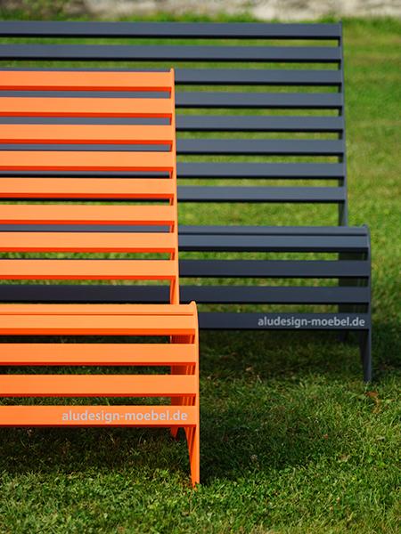 witterungsbeständige Gartenmöbel Sitzbank